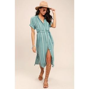🦊O'Neill Alexandra Striped Dress